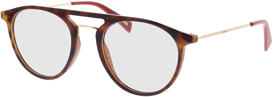 Picture of glasses model Levi's LV 1001 O63 51-21 in angle 330