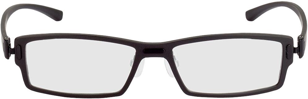 Picture of glasses model Sliema-schwarz in angle 0
