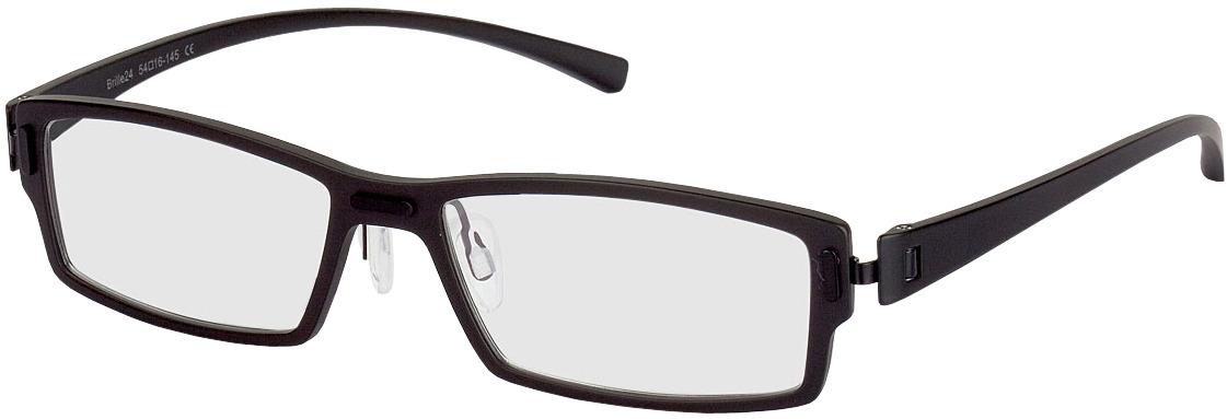 Picture of glasses model Sliema-schwarz in angle 330
