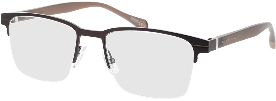 Picture of glasses model Boss BOSS 1120 YZ4 54-19 in angle 330
