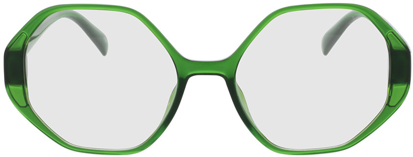 Picture of glasses model Holly-green in angle 0