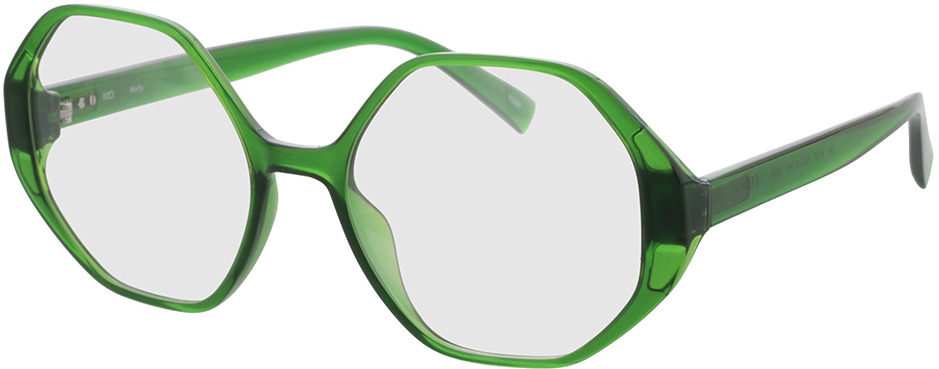 Picture of glasses model Holly-green in angle 330