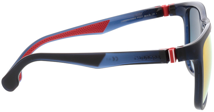 Picture of glasses model Carrera CARRERA 5050/S IPQ 56-18 in angle 90
