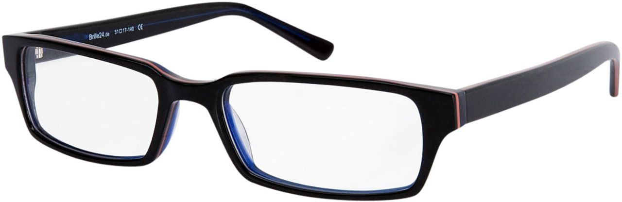 Picture of glasses model Capuno-black-blue in angle 330