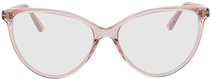 Picture of glasses model Tom Ford FT5743-B 074 57-15 in angle 0