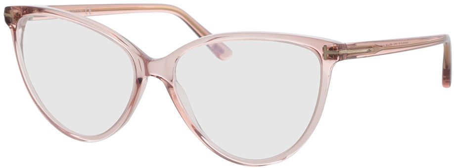 Picture of glasses model Tom Ford FT5743-B 074 57-15 in angle 330
