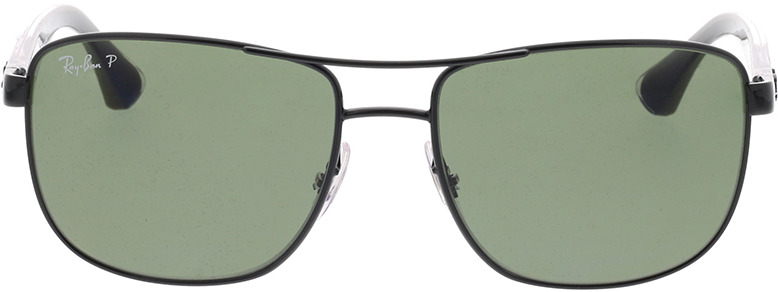 Picture of glasses model Ray-Ban RB3533 002/9A 57-17 in angle 0