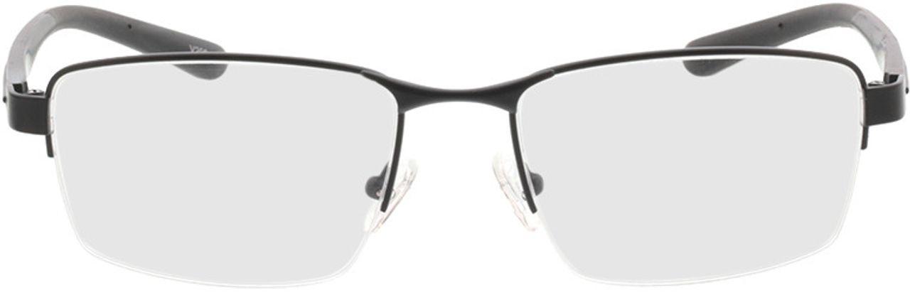 Picture of glasses model Teos-matt schwarz in angle 0