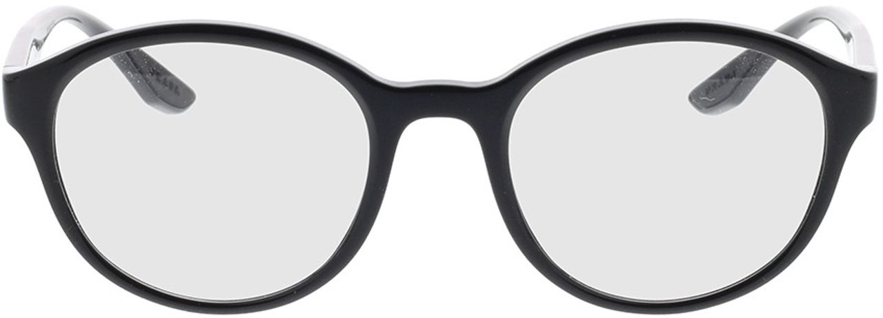 Picture of glasses model Prada Linea Rossa PS 01NV 1AB1O1 52-21 in angle 0