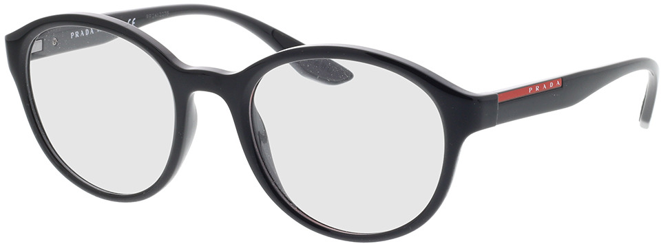 Picture of glasses model Prada Linea Rossa PS 01NV 1AB1O1 52-21 in angle 330