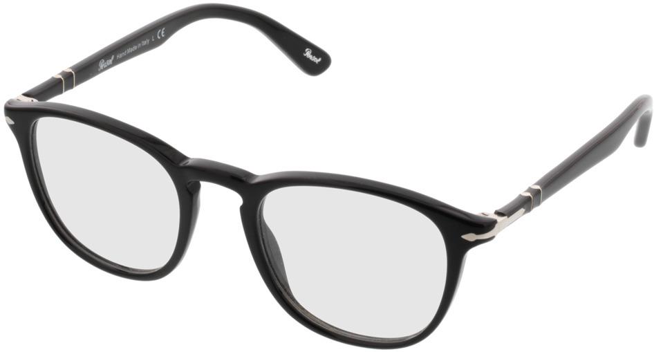Picture of glasses model Persol PO3143V 95 49-21 in angle 330
