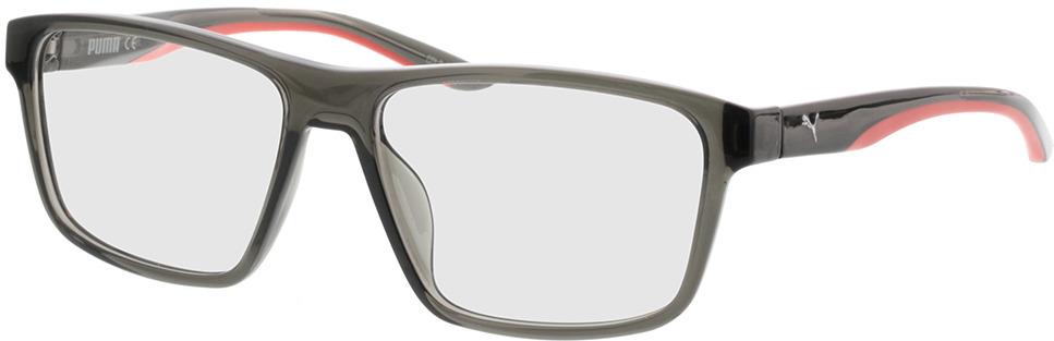 Picture of glasses model Puma PU0209O-003 56-16 in angle 330