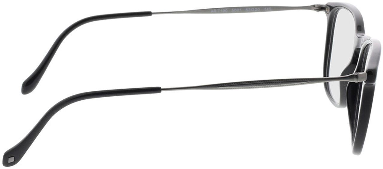Picture of glasses model Giorgio Armani AR7190 5001 53-20 in angle 90