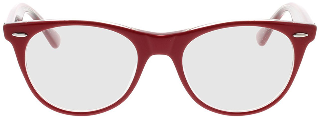 Picture of glasses model Ray-Ban RX2185V 5987 50-18 in angle 0