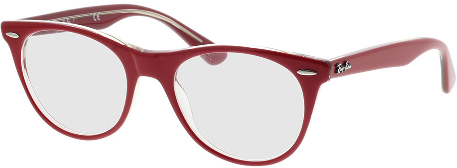 Picture of glasses model Ray-Ban RX2185V 5987 50-18 in angle 330