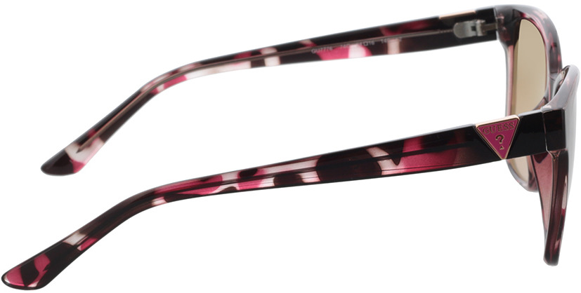 Picture of glasses model Guess GU7776 74G 54 in angle 90