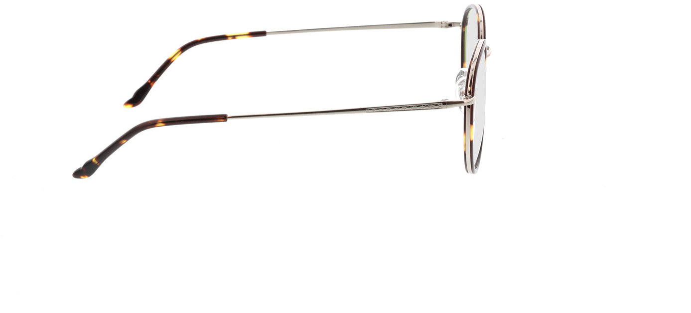Picture of glasses model Valby bruin/zilver in angle 90