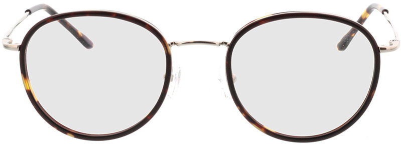 Picture of glasses model Valby bruin/zilver in angle 0