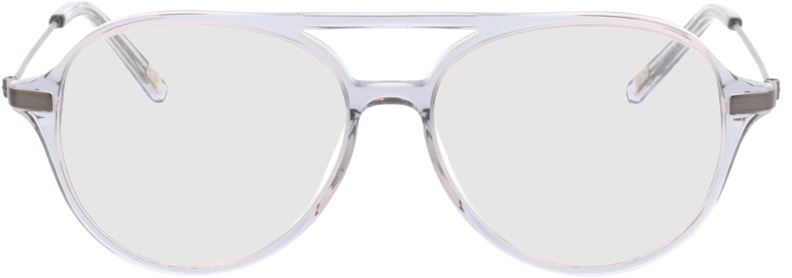 Picture of glasses model Divo-transparent grau in angle 0