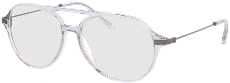 Picture of glasses model Divo-transparent grau in angle 330