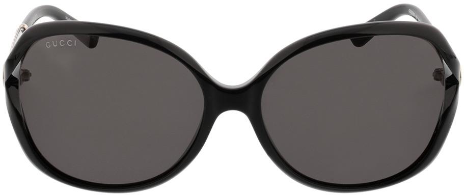 Picture of glasses model Gucci GG0076SK-001 62-15 in angle 0