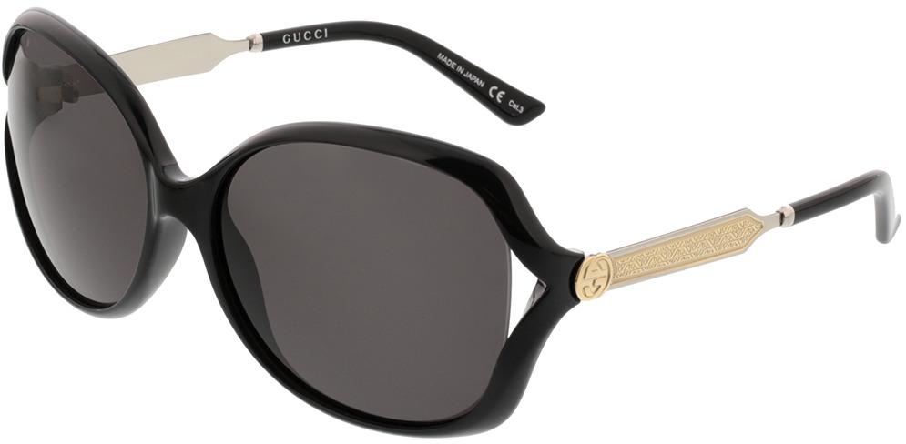 Picture of glasses model Gucci GG0076SK-001 62-15 in angle 330