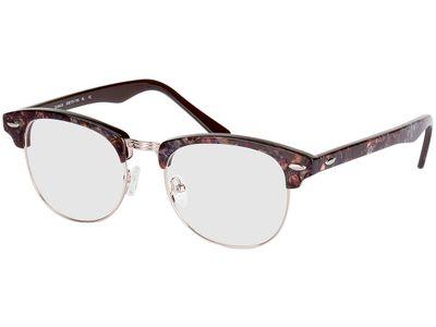 Brille Brindisi-braun/lila marmoriert