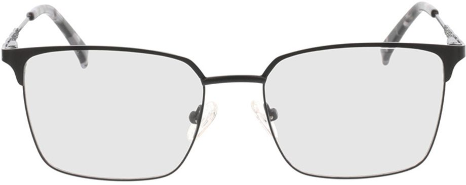 Picture of glasses model Castillo-matt schwarz in angle 0