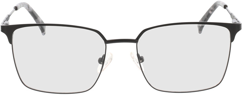 Picture of glasses model Castillo-noir mat in angle 0