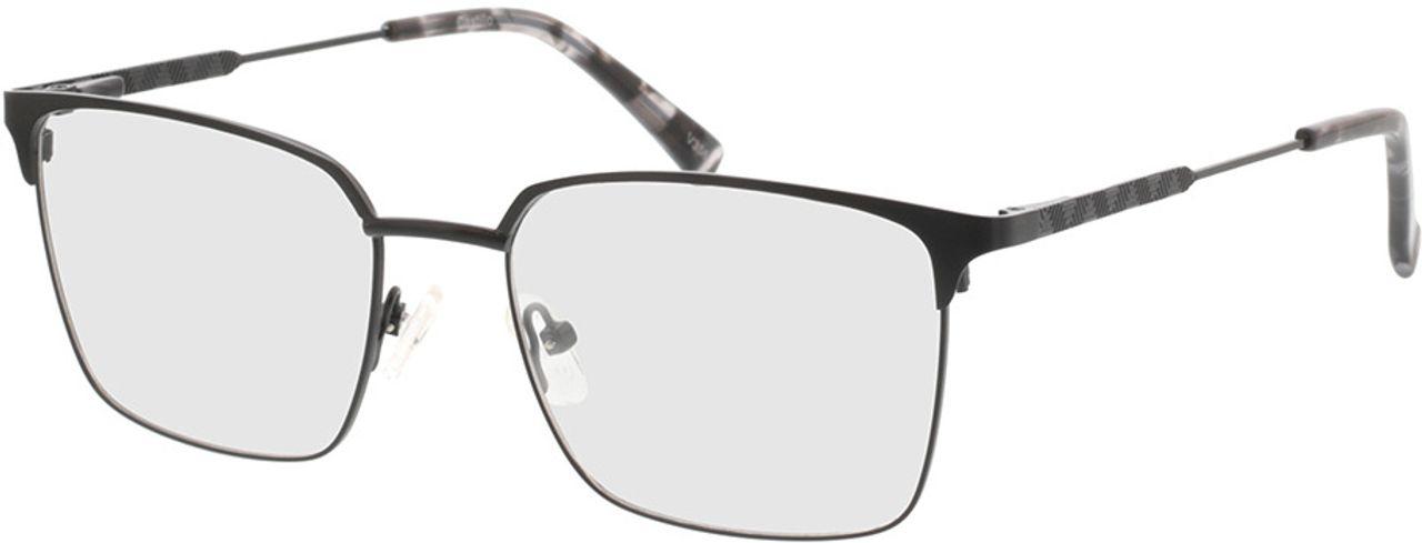 Picture of glasses model Castillo-matt schwarz in angle 330