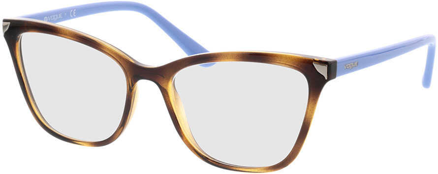 Picture of glasses model Vogue VO5206 W656 53-17 in angle 330