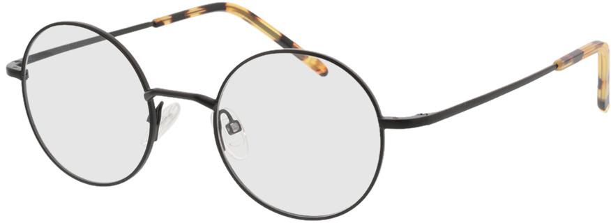 Picture of glasses model Lumos-matt schwarz  in angle 330