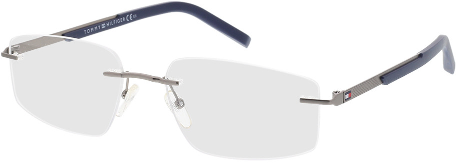 Picture of glasses model Tommy Hilfiger TH 1691 V84 56-18 in angle 330