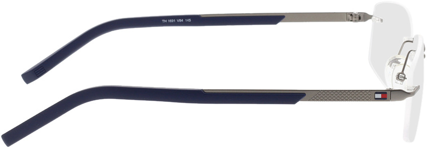 Picture of glasses model Tommy Hilfiger TH 1691 V84 56-18 in angle 90