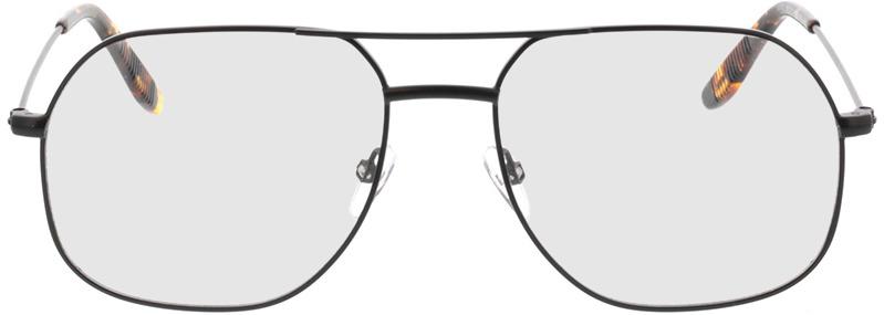 Picture of glasses model Remo-matt schwarz  in angle 0