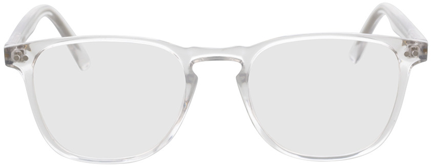 Picture of glasses model Foster-transparent in angle 0