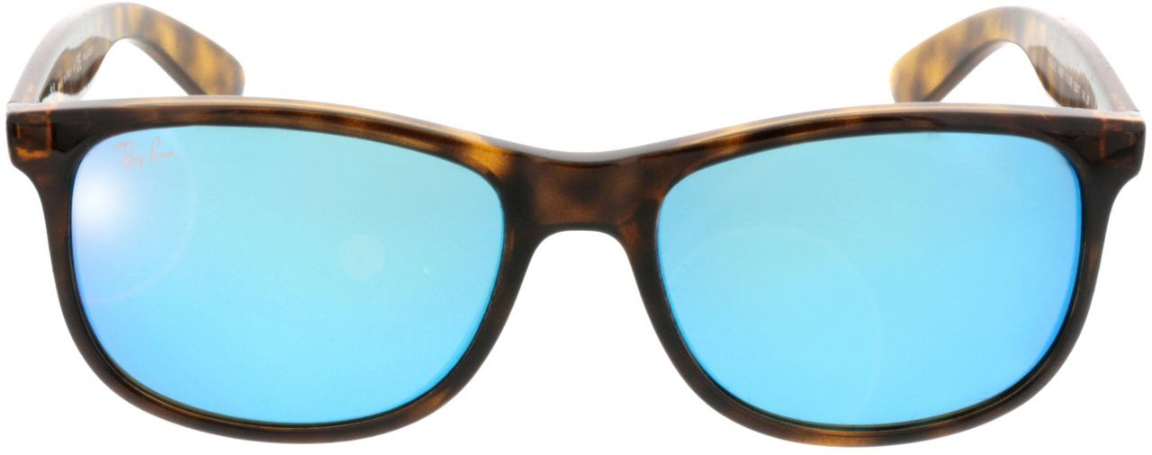 Picture of glasses model Ray-Ban Andy RB4202 710/9R 55-17 in angle 0