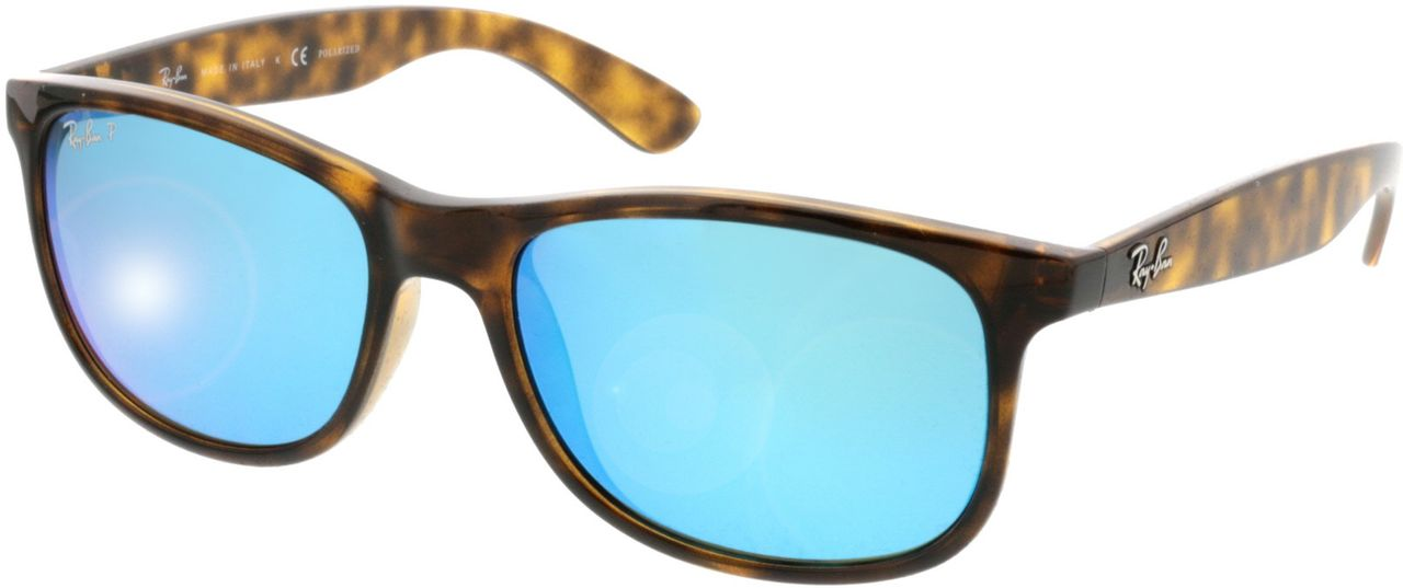 Picture of glasses model Ray-Ban Andy RB4202 710/9R 55-17 in angle 330