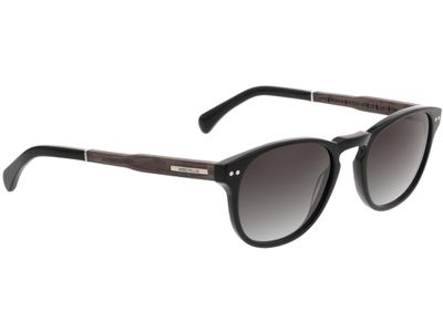 Brille Wood Fellas Sunglasses Stockenfels black oak/black 51-21