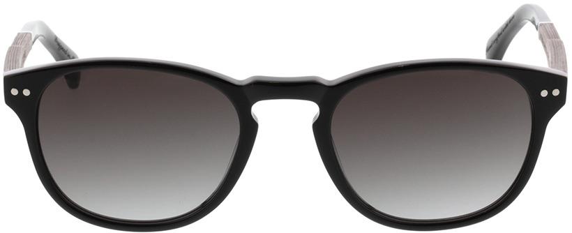 Picture of glasses model Wood Fellas Sunglasses Stockenfels black oak/black 51-21 in angle 0