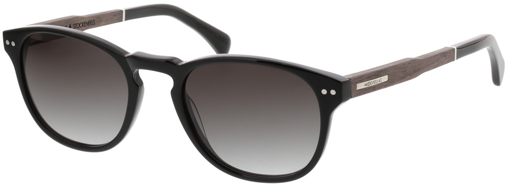 Picture of glasses model Wood Fellas Sunglasses Stockenfels black oak/black 51-21 in angle 330