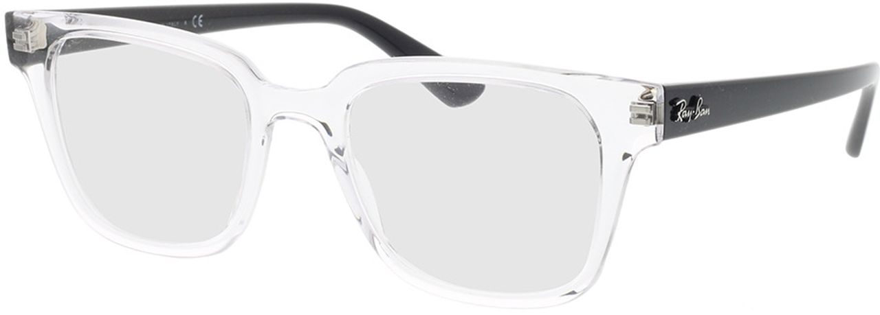 Picture of glasses model Ray-Ban RX4323V 5943 51-20 in angle 330