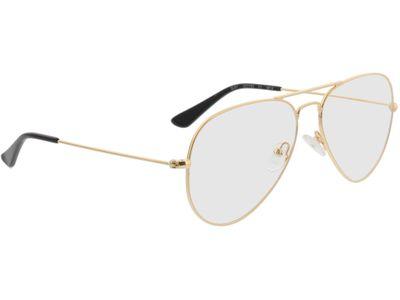 Brille Manhattan-gold