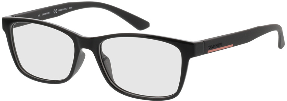 Picture of glasses model Calvin Klein CK20533 001 52-15 in angle 330