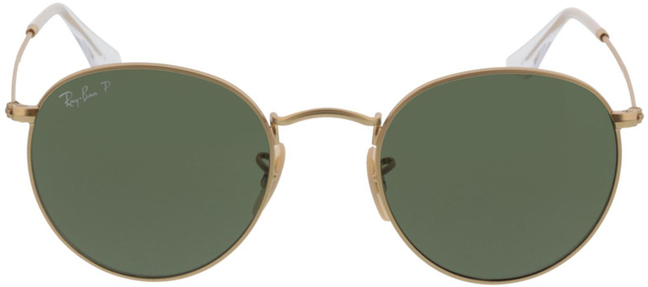 Picture of glasses model Ray-Ban Round Metal RB3447 112/58 50-21 in angle 0