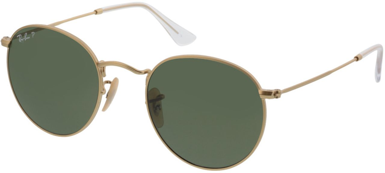 Picture of glasses model Ray-Ban Round Metal RB3447 112/58 50-21 in angle 330
