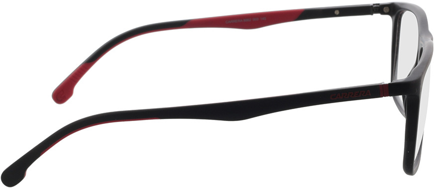 Picture of glasses model Carrera CARRERA 8862 003 57-17 in angle 90