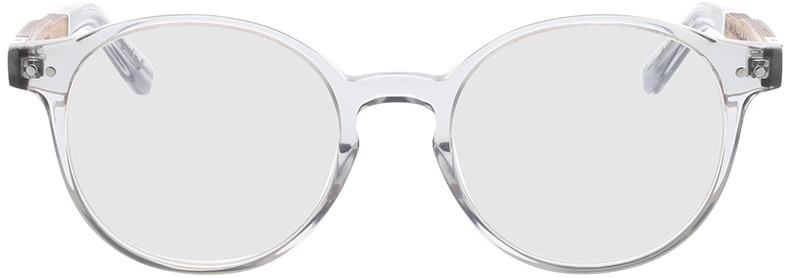 Picture of glasses model Wood Fellas Optical Solln Premium walnut/grey 49-19 in angle 0
