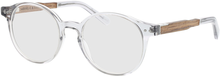 Picture of glasses model Wood Fellas Optical Solln Premium walnut/grey 49-19 in angle 330