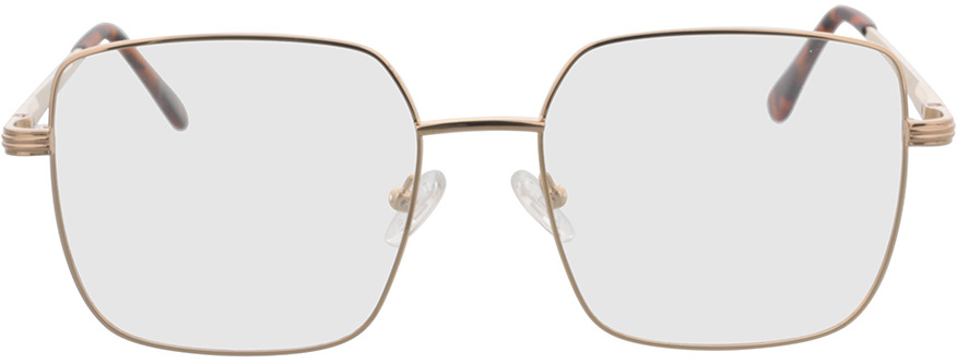 Picture of glasses model Rosedale-gold in angle 0